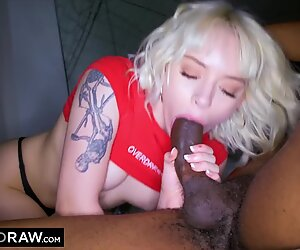 BLACKEDRAW Naughty College Student Lives Out Fantasy To Fuck Strangers BBC
