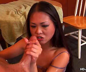 chinese prostitute deepthroating and getting spit treated