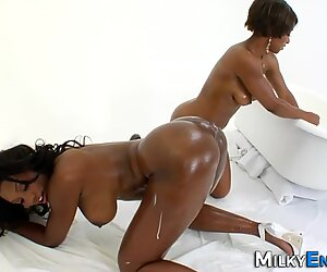 Black fat assed whore