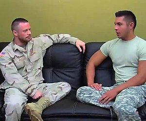 Private Seth Fucks Sergeant Miles