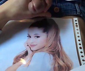 Ariana Grande Cum Tribute 24