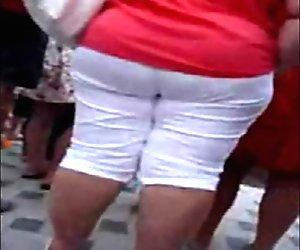 Big Mature Ass! Russian Amateur!