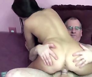 Gianna Love takes some dick from a geek