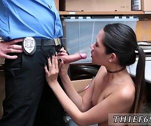 Ebony sloppy interracial and amateur blow jobs swallow Habitual Theft - Jade Noir