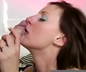 Mature british lady in stockings fucking younger guy