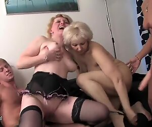 GRANNY granny and granny fucked by not their son