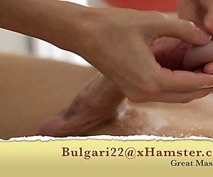 Great massage and cum