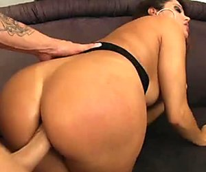 Filthy milf spreads her legs wide for a deeper anal penetration