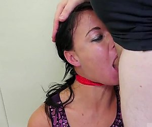 Latex bondage cum Talent Ho