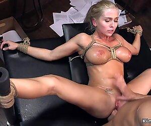 Man anal bangs huge tits agent bondage