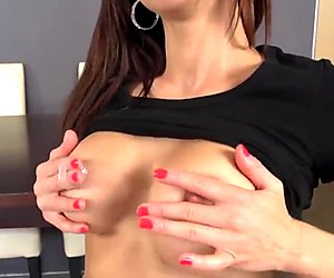 Hot MILF Stacy Silver Pussy Rubbing 1