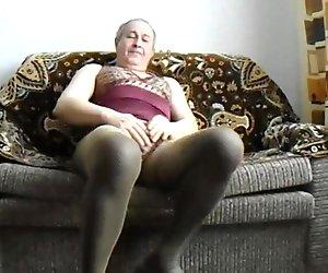 Did orgasm his semen in tights