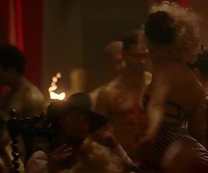 Evan Rachel Wood, Uncredited Orgy - Westworld - s01e05 (US2016)