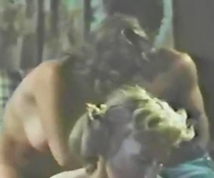 Kinky swingers fuck together in a foursome. Retro porn clip