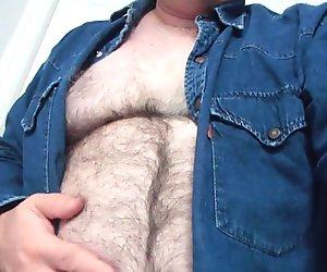 My hairy body.