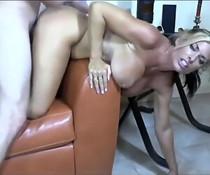 Horny and Busty Amateur MILF Fucked by Boy