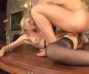 Who Knows this Tall Very Sexy Blonde fucked hard in Meeting