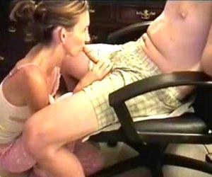 My shy wife homemade blowjob movie