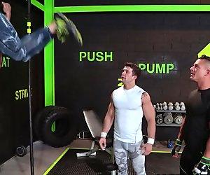 HotHouse Sebastian Kross Fucks Hard at Gym