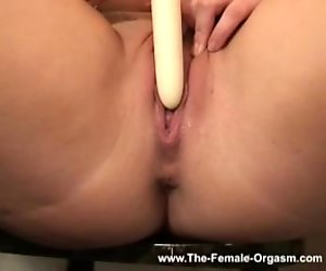 Tasty lesbian sluts lick and finger each other on sofa
