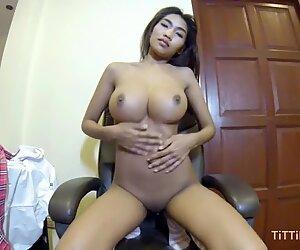 hefty boobs on japanese web cam performer