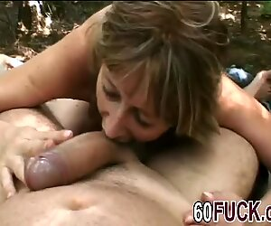 Horny Granny Juditta Jumps On My Big Hard Cock And Doesn't Let Go