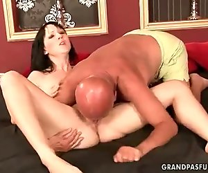 Grandpas and Teens Hot Sex Compilation