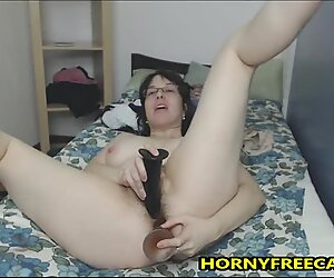 Hairy Ass And Pussy Mature Loves DP