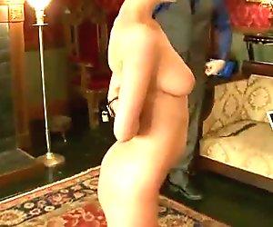 Hot pretty babe dominated