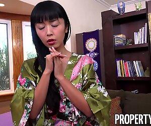PropertySex Manager Fucks Fine Tenant Asian Marica Hase