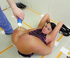 Hot blonde bondage anal Talent Ho