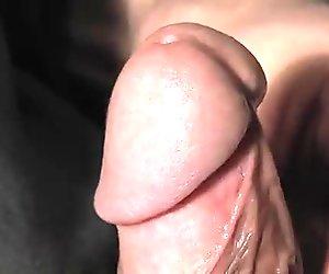 Juicy Cock - wanking, closup and cumshot