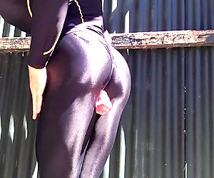 In The Sun Oil Piss Cum