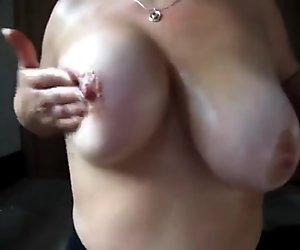 Wife 039 s big tits wanking material 8
