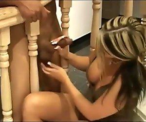 cute milf play his cock