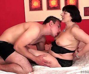 Grannies and Boys in Hot Fuck Compilation