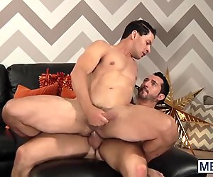 Jimmy gets to suck Jorges big hard cock