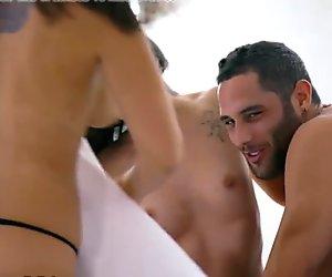 EroticaX Hot Couple Invites Friend to Threesome