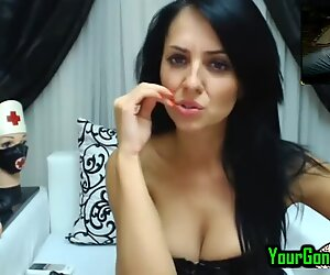 Hot Milf In Latex Watches Me Fuck To Her On Live Cam 2 Cam