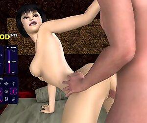 [Gameplay] Neon Genitals Erogelion 3D - Busty Daisy
