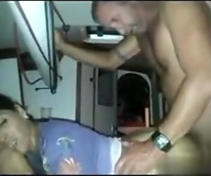Meet her on MATURE-FUCKS.COM - HOT Boat cuckold threesome must see