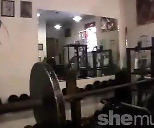 Rachel In the Gym