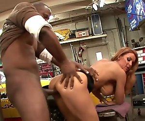 Redhead loving big dick