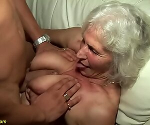 grandmother in her very first pornography video