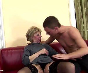 Femme poilue mûre mère se fait sodomiser par son fils
