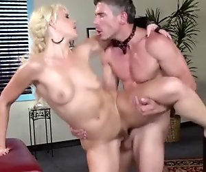Massage table fuck with Anikka Albrite