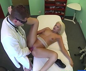 Blonde Janna gets cured by having sex
