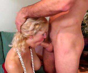 Taboo sex with old grannies aka GILFs