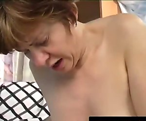 Granny's Vibrator Makes Her Squirt
