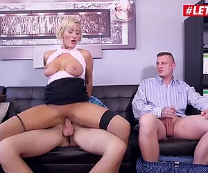 LETSDOEIT - German Mature Boss Lady Rides Her New Assistant